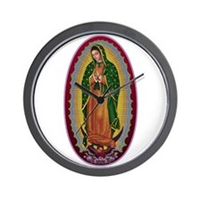 7 Lady of Guadalupe Wall Clock