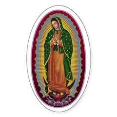 7 Lady of Guadalupe Decal