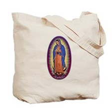 8 Lady of Guadalupe Tote Bag