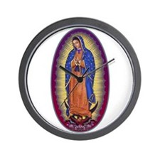 8 Lady of Guadalupe Wall Clock