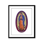 8 Lady of Guadalupe Framed Panel Print