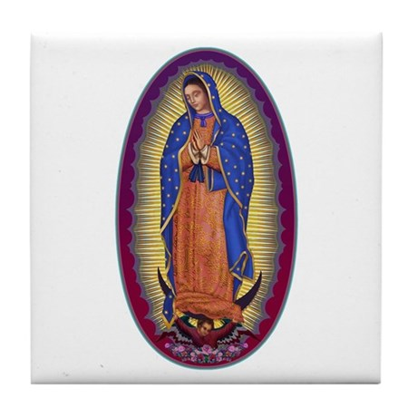8 Lady of Guadalupe Tile Coaster