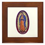 8 Lady of Guadalupe Framed Tile