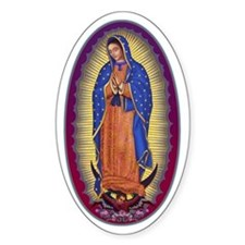 8 Lady of Guadalupe Decal