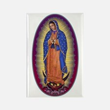 8 Lady of Guadalupe Rectangle Magnet