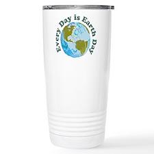 Earth Day Every Day Travel Mug