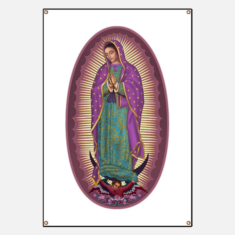 9 Lady of Guadalupe Banner