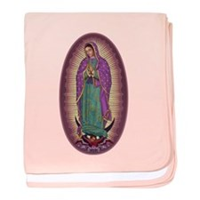 9 Lady of Guadalupe baby blanket