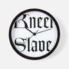 Kneel Slave Wall Clock