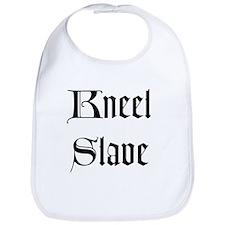 Kneel Slave Bib