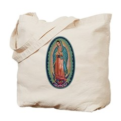 11 Lady of Guadalupe Tote Bag
