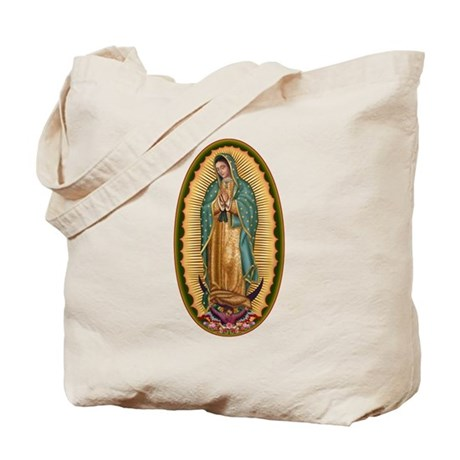 12 Lady of Guadalupe Tote Bag