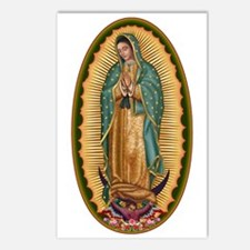 12 Lady of Guadalupe Postcards (Package of 8)