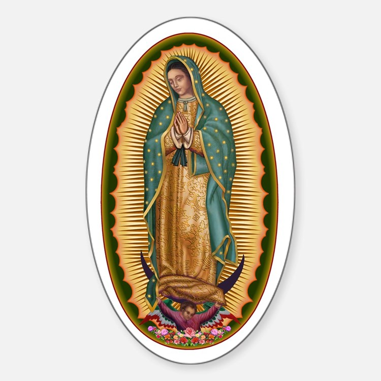 12 Lady of Guadalupe Decal