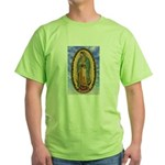 La Guadalupana Green T-Shirt