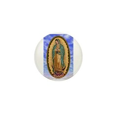 La Guadalupana Mini Button (10 pack)