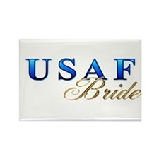 USAF Bride Rectangle Magnet