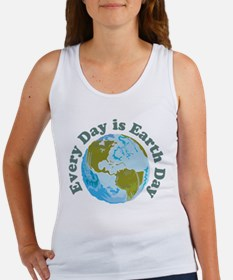 Earth Day Every Day Women's Tank Top