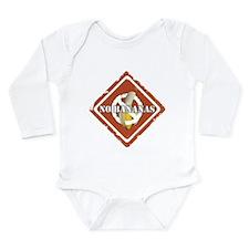 Cute No banana Long Sleeve Infant Bodysuit
