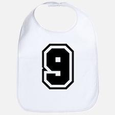 Varsity Uniform Number 9 Bib