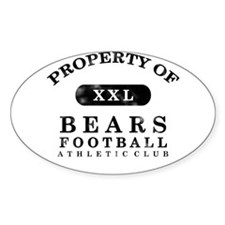 Property of Bears Decal