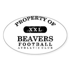 Property of Beavers Decal