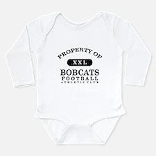 Property of Bobcats Long Sleeve Infant Bodysuit