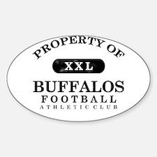 Property of Buffalos Decal