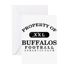Property of Buffalos Greeting Card