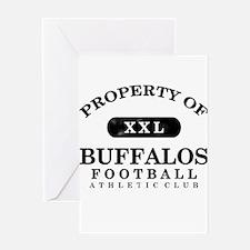 Property of Buffalos Greeting Card