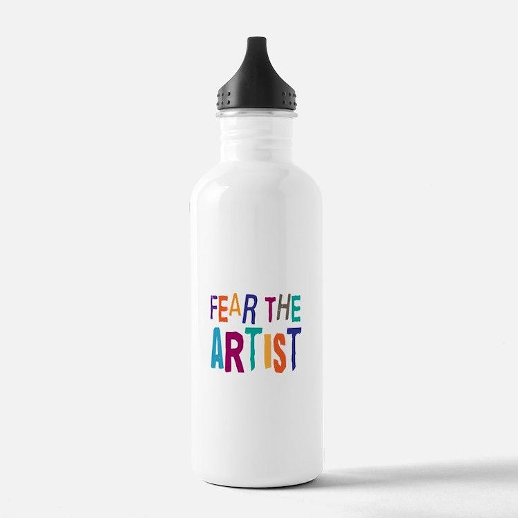 Funny Artist Water Bottle