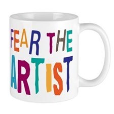 Funny Artist Small Mug
