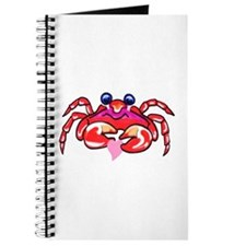 lil' red crab & heart Journal