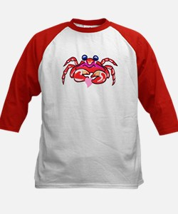 lil' red crab & heart Tee