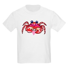 lil' red crab & heart T-Shirt