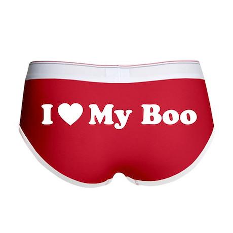 i love my boo women s boy brief by designdiva ts