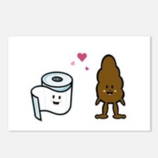 Poo Pals Postcards (Package of 8)