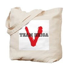 V tv Team Erica Tote Bag