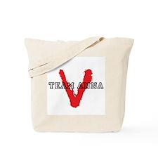 V tv Team Anna Tote Bag
