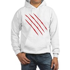 Scratches (1 side) Hoodie Sweatshirt