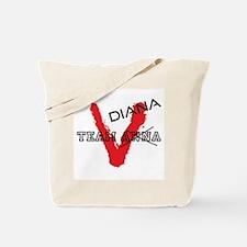 V tv Team Diana Tote Bag