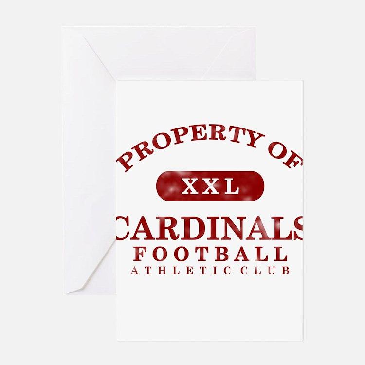 Property of Cardinals Greeting Card
