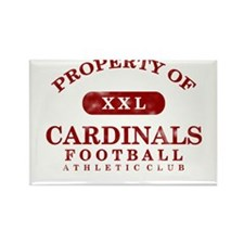 Property of Cardinals Rectangle Magnet