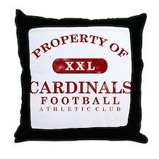 Property of Cardinals Throw Pillow