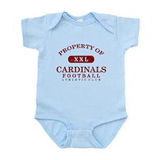 Property of Cardinals Infant Bodysuit