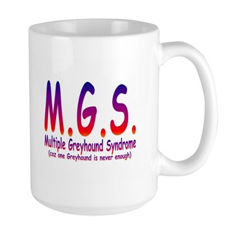 Greyhound Large Mug