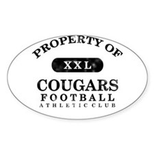 Property of Cougars Decal