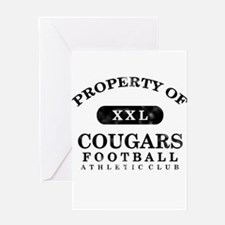 Property of Cougars Greeting Card