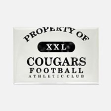 Property of Cougars Rectangle Magnet