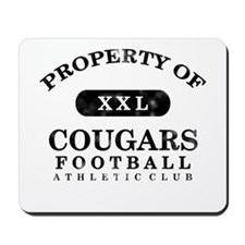 Property of Cougars Mousepad